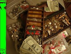 ✯FLOOD SALE OLD Estate Coin Collection Lot ✯ Silver Certificate $24.99