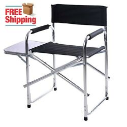 Light Weight Director Portable Chair Patio Picnic Beach Lawn Camping RV