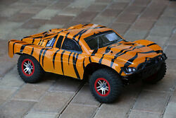 Custom Body Tiger Style for Traxxas Slash 1/10 4x4 VXL 2WD Slayer Shell Cover $34.98