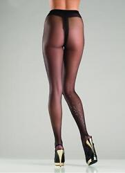 sexy BE WICKED sheer GLITTER sparkles EXPLOSION glittery PANTYHOSE nylons TIGHTS