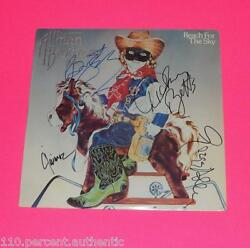 GREG ALLMAN DICKEY BUTCH TRUCKS JAIMOE SIGNED ALLMAN BROS VINYL LP  *PROOF*