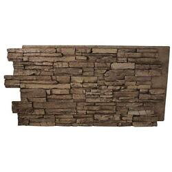 Stack Stone Panel 24 in. x 48 in. x 1-14 in. Interlocking Natural Look Light