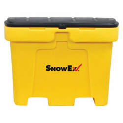 SNOWEX Polyethylene Salt Box18 cu ftYellow SB-1800 Yellow