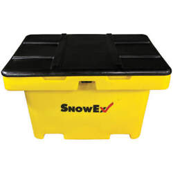 SNOWEX Polyethylene Salt Box11 cu ftYellow SB-1100 Yellow