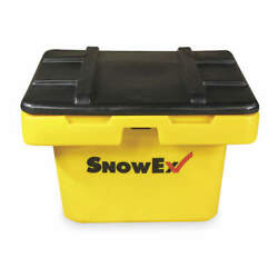 SNOWEX Polyethylene Salt Box5.5 cu ftYellow SB-550 Yellow