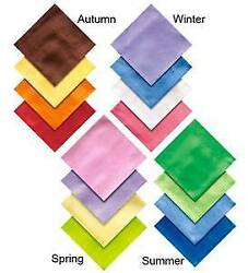 Magic Cabin Play Silks for Kids Set of 16-Pieces in Seasonal Colors