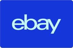 eBay Digital Gift Card Electric Blue One Card So Many Options Emailed $200.00
