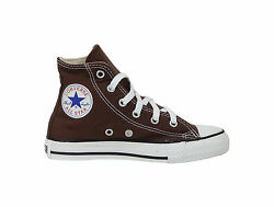Converse Chuck Taylor All Star High Top Kids Size Girls Shoes Chocolate Brown $48.00