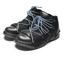 FESSURA Mens Mummy Shoes Basic Light Trekking Black color $149.90