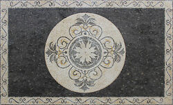 Stone Mini Carpet Tile Interior Decor Art 85