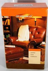 NEW Guardsman Brand Leather Care Collection Leather Furniture Care and Cleanup