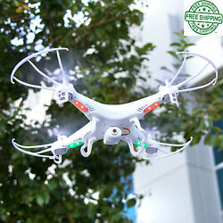 Remote Helicopter 6 Axis Quadcopter Flying Drone Toy With Gyro And HD Camera $54.99