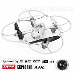 Syma X11C RC Helicopter with Camera 4 Channel Quadcopter Toy WHITE GBP 39.99