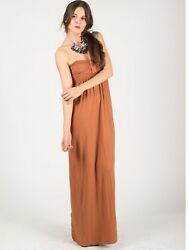 Lady Boobtube Jersey maxi dress holiday beach wear $20.94