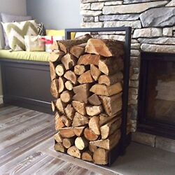Firewood log rack for home fire place decoration indooroutdoor modern and ru...