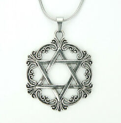 Large Star of David Necklace pick 16 to 36