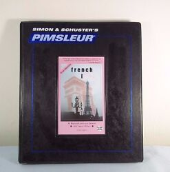 Pimsleur 2nd  Euro Edition FRENCH 1~ 30 Lessons 16 CD's by Simon