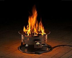 Portable Propane Fire Pit Easy To Carry Camping Patio Outdoor