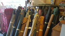 OEM Fabric Vinyl Leather Rolls Lot  1959 thru 2003 Upholstery Shop Cleanout