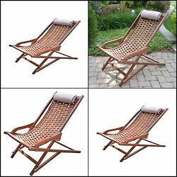 The Original Eucalyptus Swing Lounger  with Pillow High Quality  Outdoor Chair