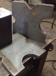 7x7 Steel Shop Hydraulic press plates AR400 Strongest Available