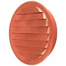 Strong Copper Round Louvered Soffit Vent Wall Insert Screen Ducts Ventilation 4
