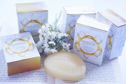 5X Cleanse and Nourish Phupraw Soap With Olive Oil Silk Protein Milk 110g.