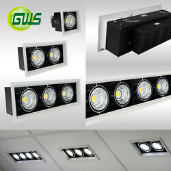 Premium Adjustable Commercial Recessed LED Downlight Ceiling Retail Spotlights