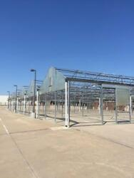 COMMERCIAL GREENHOUSE FRAME 25000 SQ FT FOR SALE