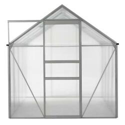 Ogrow OGAL-866 6 x 8 ft. Walk-in Lawn and Garden Greenhouse with Heavy Duty Alum