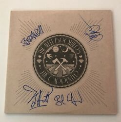 The Avett Brothers Signed X4 The Carpenter Vinyl LP JSA LOA # Z04117 Autographed