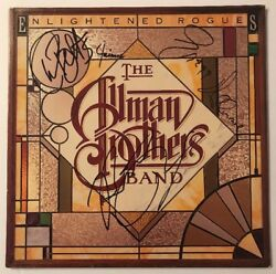 The Allman Brothers Signed Enlightened Rogues X4  Vinyl LP JSA LOA # Z08693 Auto