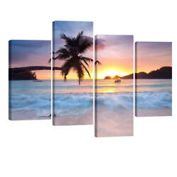 Large Canvas Wall Art Print Painting Picture Home Decor Landscape Sea Framed $60.72