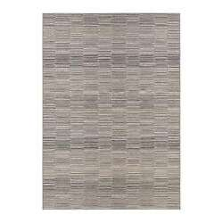 Couristan Cape Fayston Silver Charcoal Outdoor Rug 98609009053076T 5-ft 3-in x