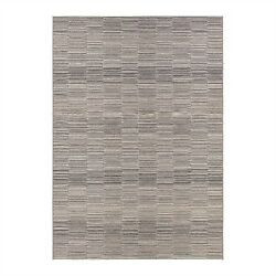 Couristan Cape Fayston Silver Charcoal Outdoor Rug 98609009311056T 3-ft 11-in x