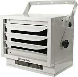 NEW Comfort Zone Industrial Ceiling Mount Heater 5000 Watts 240V Garage Electric $104.94