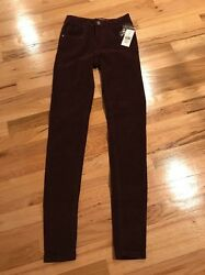 NWT Ladies Liquidx Casual Maroon Pants Size 0