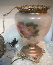Antique Lamp GoneWTW Kerosene Electrified c.1900 Pittsburgh Banquet Parlor Lamp $599.99