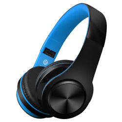 Wireless Bluetooth Headphones Foldable Stereo Earphones Super Bass Headset Mic