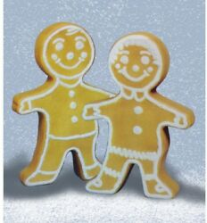 Christmas Holiday 24in Lighted Gingerbread Figure with Lights Outdoor Yard Decor