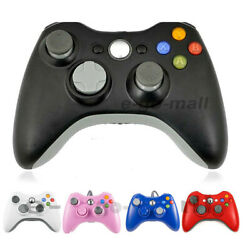 USB Wired  Wireless Game Controller Gamepad Joystick for Microsoft Xbox 360