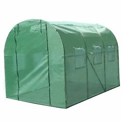 Sun Walk In Tunnel Green House Replacement Covers Outdoor Rain Garden Plant Shed