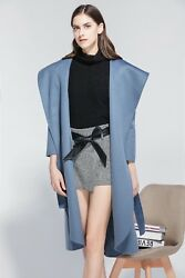 KiRED New Style Hot Handmade Women Lady Long Paragraph Coat1 00% Wool ITALY