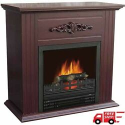 Classic Home Electric Fireplace Heater 1250W With 28