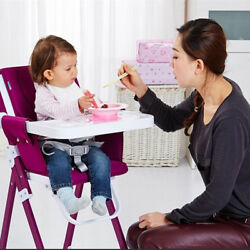 Baby Foldable Feeding High Chair Toddler Infant Booster Dining Seat Portable.Kid