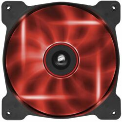 Corsair 140mm LED Red Quiet Edition High Airflow Fan $34.49