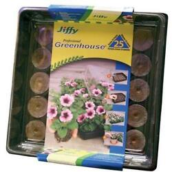 Jiffy 25 Cell Peat Pellets Professional Greenhouse