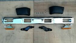 FIT FOR TOYOTA PICKUP HILUX 4WD CHROME FRONT BUMPER BAR 84-88 ASSEMBLY