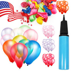 12quot; Premium Latex Balloon 100pcs all Color Birthday Wedding Party Decoration USA $7.98