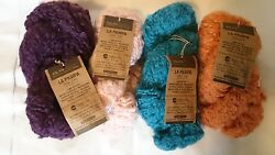 Lot of 6 Cascade Wool Yarns Aslan Trends La Pampa
